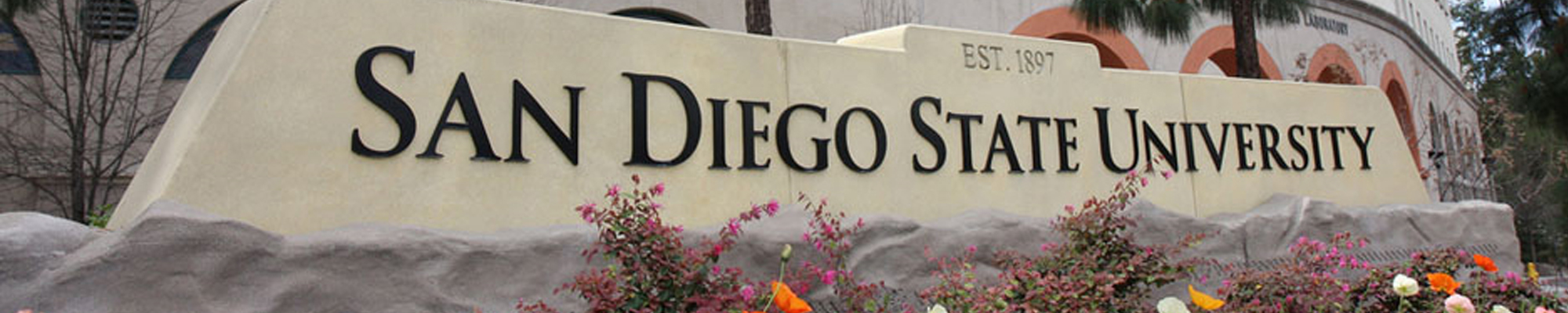 san diego state university sign